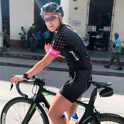 Genevieve Jacques entrenamiento ciclismo mujeres