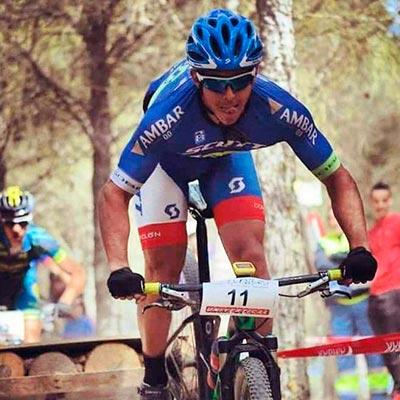 Javi Serrano entrenamiento ciclismo